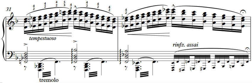 Liszt Reminiscences de Don Juan bar 31